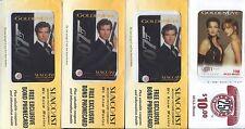 GOLDENEYE Phone Cards 1995