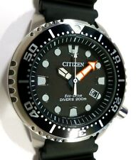 Citizen Promaster Eco-Drive Professional Diver's 200m - SOLAR QUARTZ! - NEW
