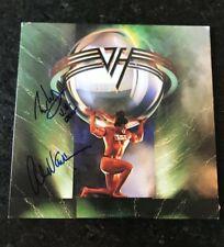 * EDDIE & ALEX VAN HALEN * signed vinyl record album * 5150 * VAN HALEN * COA *