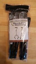 Revolution Mobility Black Folding Cane with Derby Handle Great Gift