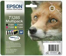 Epson T1285 Multipack Renard DURABrite Ultra Cartouches d'Encre - Noir, Magenta,