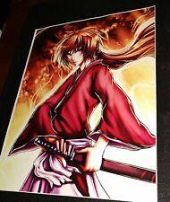 Color Print 8.5x11 Rurouni Kenshin Himuara/Himura Kenshin Japan Anime Character