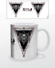 ALCHEMY-HOWLING 11 OZ COFFEE MUG SKULL SKELETON DECOR EMO GRUNGE TEA CUP METAL!!
