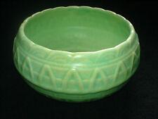 Shorter & Son Basket Weave Effect Green 6 1/2 inch Bowl