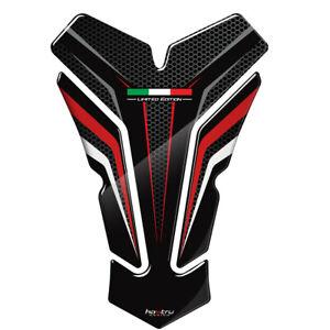 Black Protector Gas Fuel Tank Pad Decal Vinyl Epoxy Sticker For Ducati Models