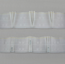 10mtr x Professional 10.5cm (4in) triple pleat heading tape, 2 woven pockets