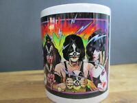 KISS. Unmasked. Printed mug. New and boxed