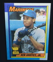 1990 Topps Ken Griffey Jr. All-Star Rookie Bloody Scar Error Card 336 HOF MINT
