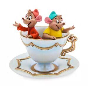 Disney Store Gus & Jaq Trinket Jewellery Dish Cinderella Teacup Mice New