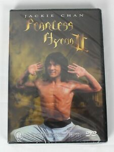 Fearless Hyena 2 Dvd Jackie Chan R4 NEW & SEALED