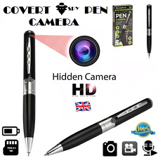 Covert CAMERA PEN Spy Pen Hidden Camera Discreet Cam HD Audio / Video Recording