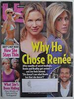 RENEE ZELLWEGER JENNIFER ANISTON BRADLEY COOPER August 2009 US Magazine