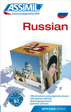 Assimil Russian with ease course Full - Super pack for English speakers + 4 CD's