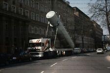 LKW Foto DAF 3600 Kippsilo Sattelzug am abladen, Bremen Berlin 10x15cm/LF146