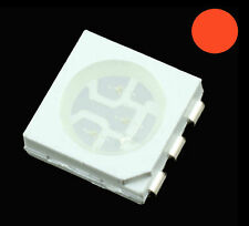 10 x red 5050 plcc-6 LED SMD / SMT Puce