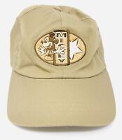 Mickey Logo Mickey Mouse Disney Brown Baseball Hat Strapback Adjustable Cap Men