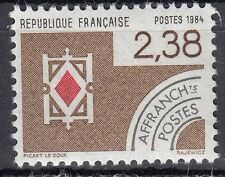 FRANCE TIMBRE   PREOBLITERE  N° 184  **   CARTE A JOUER  CARREAU