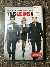 This Means War Reese Witherspoon Chris Pine - New Factory Sealed - Free Shipping