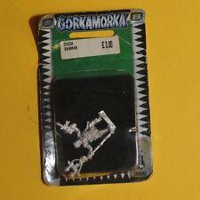 Gorkamorka - 40k ork-digga chaman, bnib