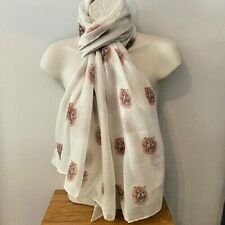 More details for chow chow dog print ladies scarf new design shawl chow gift