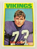 1972 Topps Ron Yary #104 Rookie RC VG