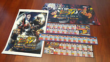 (BACKLIT) CAPCOM Super Street Fighter IV 4 Arcade Edition for Sega Blast City