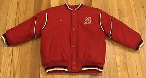 Nike NCAA Nebraska Cornhuskers Reversible Varsity Bomber Jacket size TODDLER 4