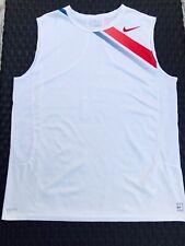 Rare 2007 Nike Rafael Nadal Tennis Sleeveless Shirt RAFA Size BOYS XL MENS SMALL