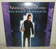2 LP GLENN HUGHES - RETURN OF CRYSTAL KARMA - WHITE
