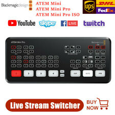 Blackmagic ATEM Mini / Mini Pro HDMI Live Stream Switcher Multi-view Recording