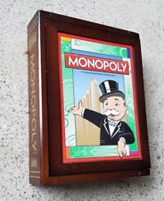 Monopoly (Board Game, Vintage Collection) wood wooden box bookshelf classic
