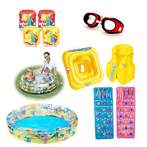 Swimming Armbands Kids Children Inflatable Swim Aid Accessories Pool Toy Gift