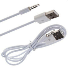 3Ft 3.5mm Aux Audio Plug Jack to Usb 2.0 Male Charge Cable Cord For iPod Mp3 Hot