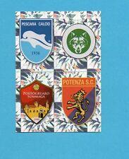 PANINI CALCIATORI 2009-2010-Figurina n.677-PESCARA+PESCINA..-SCUDETTO-NEW