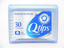 Q-tips Cotton Swabs Purse Pack 30 Ct - 100% Pure Cotton On-the-Go Travel Size