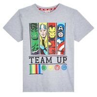 Marvel Avengers T Shirts Iron Man Captain America Hulk Thor for Boys Teenagers
