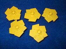 Lego Duplo Ville 5 X Blumen Blume Gelb Little Robots