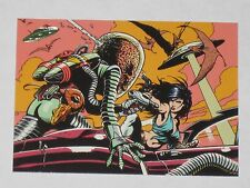 Topps Mars Attacks Trading Card 1994 Base Card NM #93 When Worlds Collide