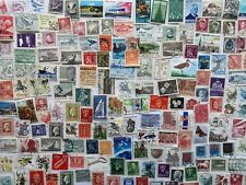 500 Different Scandinavia Stamp Collection