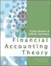 Financial Accounting Theory by Craig Deegan, Jeffrey Unerman (Paperback, 2005)