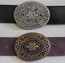 1a oggetti da qualità celtici Intrecciato Pelle Cintura Cintura in Pelle n. Misura Top #