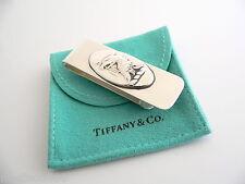 Bird Money Clip Holder Rare Vintage Tiffany & Co Silver Eagle Arrow Nature