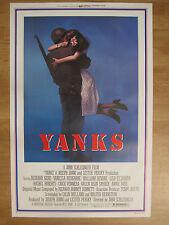 Movie Poster : Yanks (1979) Original American one sheet movie poster  RICHARD GE