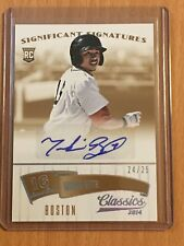 2014 Classics Boston Red Sox Mookie Betts RC Gold AUTOGRAPH SP /25 HOT!!