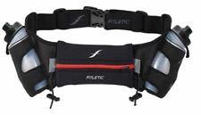 Running Hydration Belt - Fitletic Jogging Bum Bag Bottle Gel Phone Holder - Red