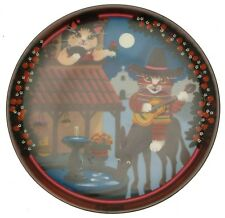 More details for anna perenna uncle tads golden oldies cat plate - ramona cp756