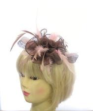 Vert foncé Plume Serre-Tête Fascinator Millinery Hat Mariage Ascot Cheveux Pièce