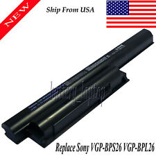 6 Cell Laptop Battery For Sony VGP-BPL26 VGP-BPS26 VGP-BPS26A VPC-CA VAIO VPC-EH