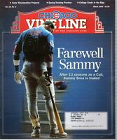 2005 (Mar.) Chicago Cubs Vine Baseball magazine, Sammy Sosa, Farewell Sammy ~ VG