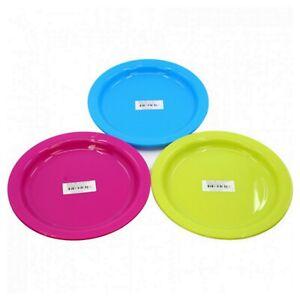 20cm 50 Stück Set Mehrwegteller Suppenteller Plastiktteller Kunststoffteller PP